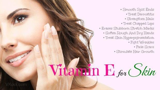 Vitamin E für die Haut