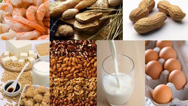 Nahrungsmittelallergene