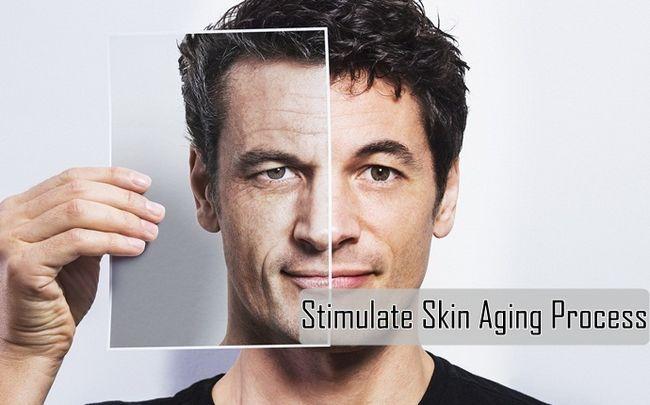 Auswirkungen von Stress - stimulieren Hautalterungsprozess