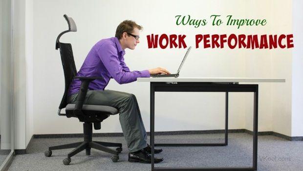 Möglichkeiten, die Arbeitsleistung zu verbessern