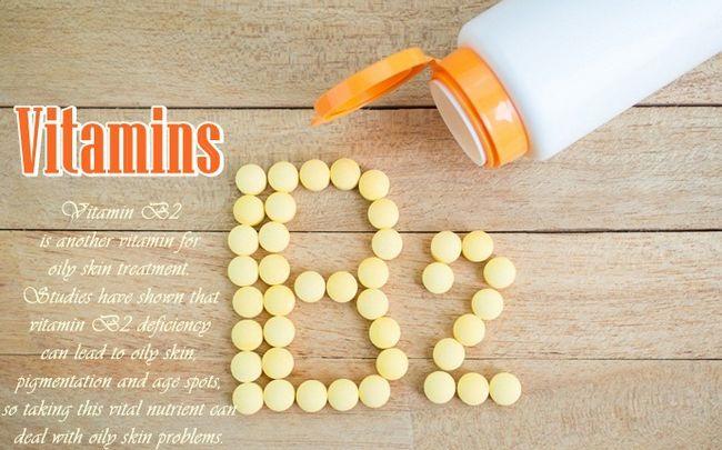 Vitamine für fettige Haut Kontrolle - Vitamin B2