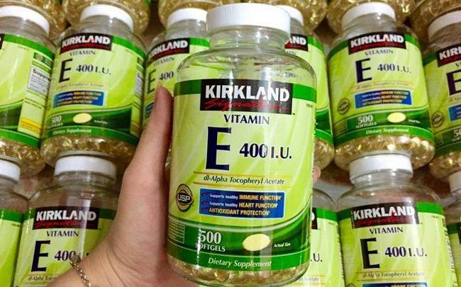 Vitamine für fettige Haut Kontrolle - Vitamin E