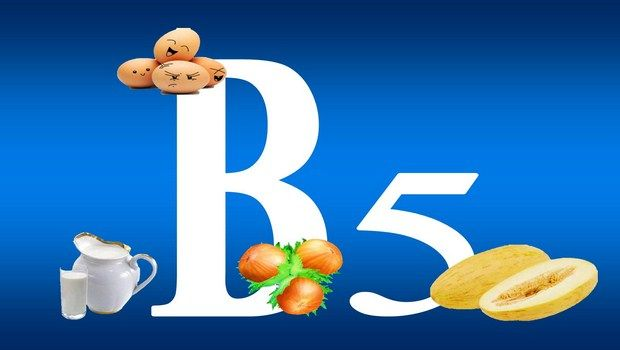 Vitamine für fettige Haut-Vitamin b5