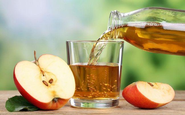 Apfelessig - wie man glänzende Nägel bekommen