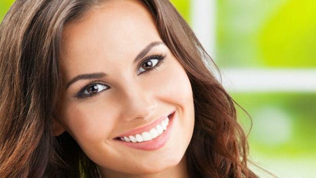 aufhellen und polieren die Zähne