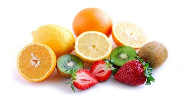 Sonne geschädigter Haut Behandlung - Vitamin C