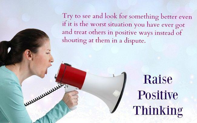 wie mental stark zu sein - erhöhen positives Denken