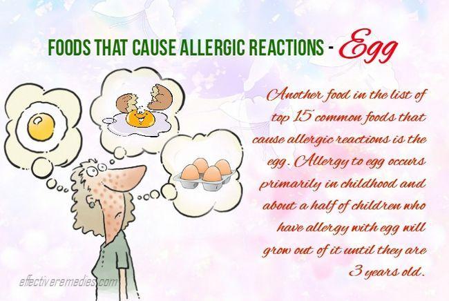 15 Gemeinsame lebensmittel, die allergische reaktionen hervorrufen