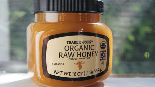 Honig für dunkle Kreise - Roh-Honig