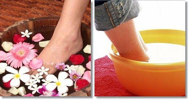 Fußpflege-Tipps Hausmittel