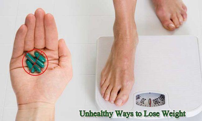 16 Ungesunde wege, um gewicht zu verlieren