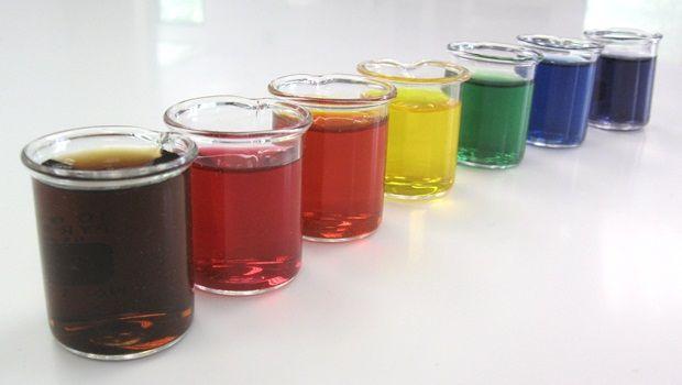hausgemachte Haarfärbemitteln - Lebensmittelfarbe (hausgemachte Haarfarbe)