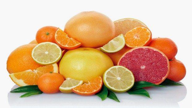 natürliche Heilmittel für Gallenblase Schmerz-Zitrusfrüchte