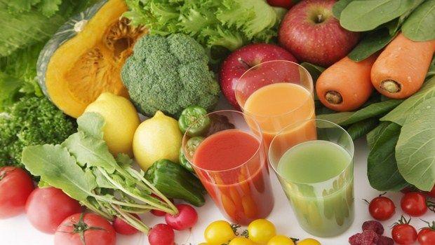 natürliche Heilmittel für Gallenblase Schmerz-Gemüsesäfte