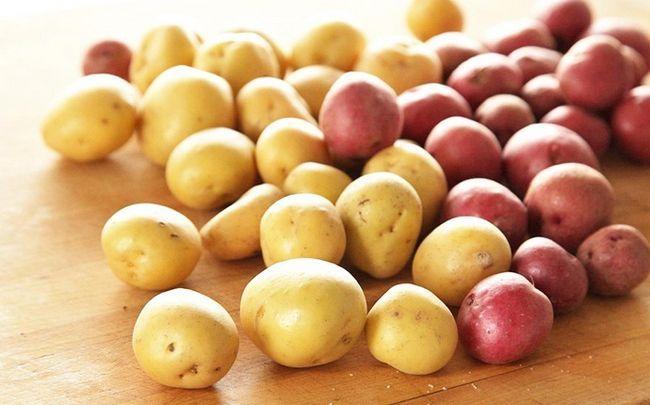 wie man loswerden Schnurrbart zu bekommen - Kartoffeln und Linsen