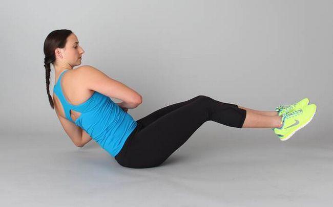 Yoga-Posen für Ischias - die einzige Knie Twist