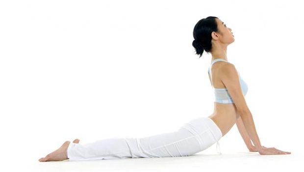 Yoga-Posen für Ischias - Kobrahaltung