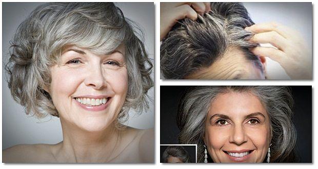 wie graue Haare natürlich für Männer zu stoppen