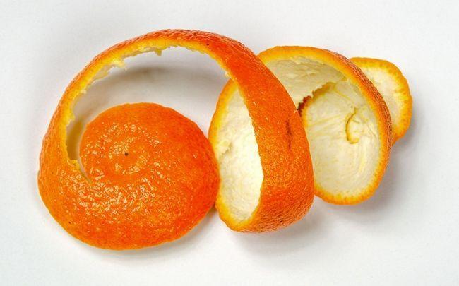 Zitrone für Schuppen - Zitrone und Orangenschale