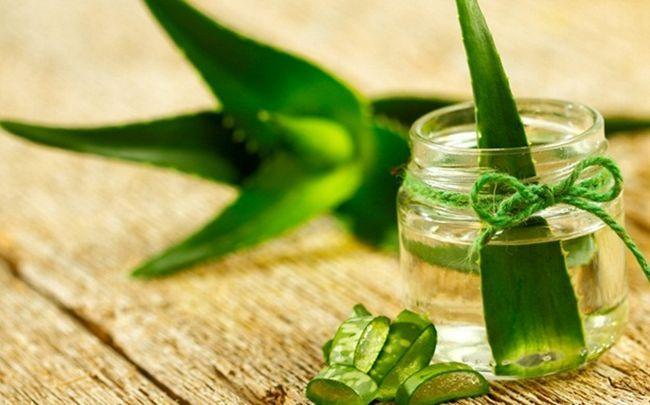 Zitrone für Schuppen - Zitrone und Aloe Vera