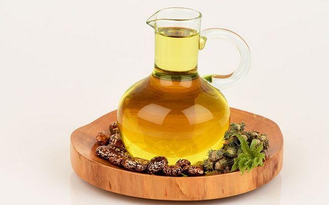 Zitrone für Schuppen - Zitronensaft, Kokosöl und Rizinusöl