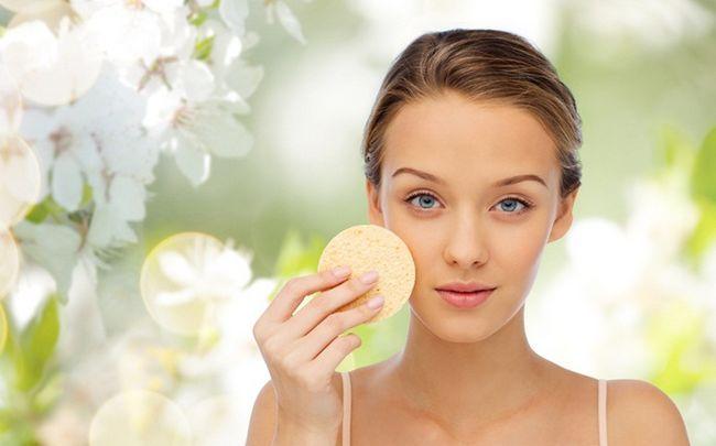Sonne geschädigter Haut Behandlung - Peeling Ihre Haut regelmäßig