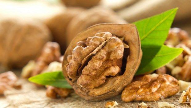 Biotin-reiche Lebensmittel-Walnuss