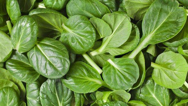 Biotin-reiche Lebensmittel-Spinat