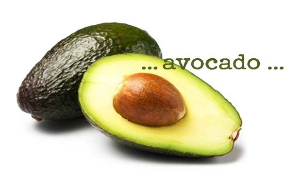 wie glänzende Nägel zu bekommen - Avocados
