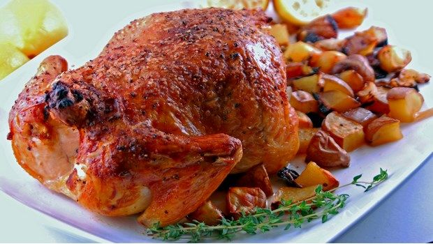 Biotin-reiche Lebensmittel-Huhn