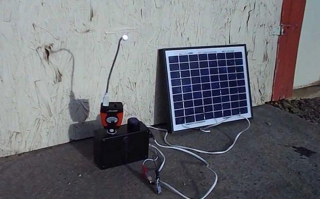 Solarenergie nutzt von - Solarenergie für die Batterieladung