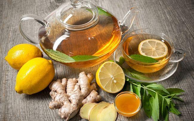 Honig für Diabetiker - Honig, Zitrone und Ingwer-Tee