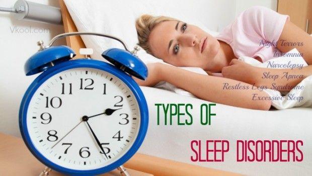6 Gemeinsame arten von schlafstörungen