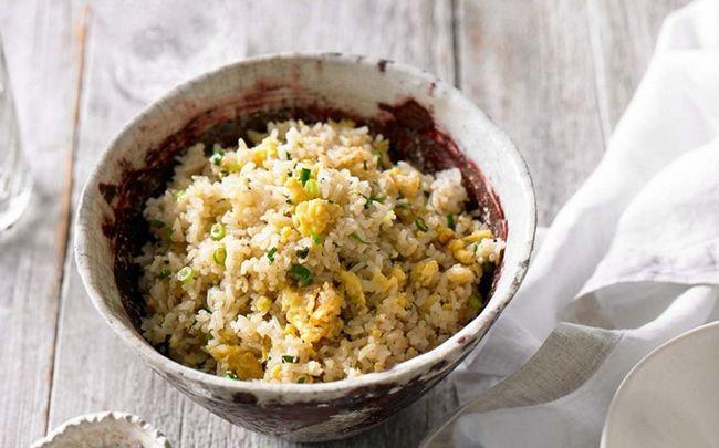 Ei gebratener Reis Rezepte - eine schnelle Ei gebratener Reis