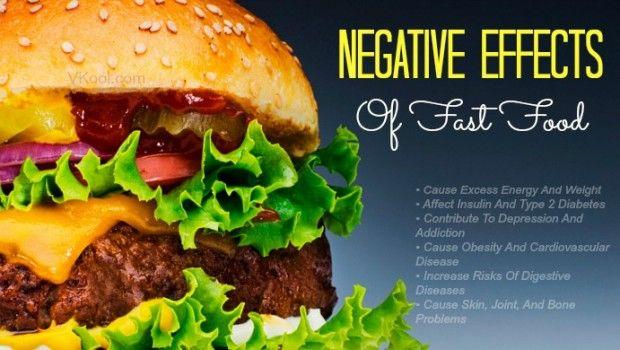 6 Negative auswirkungen von fast food