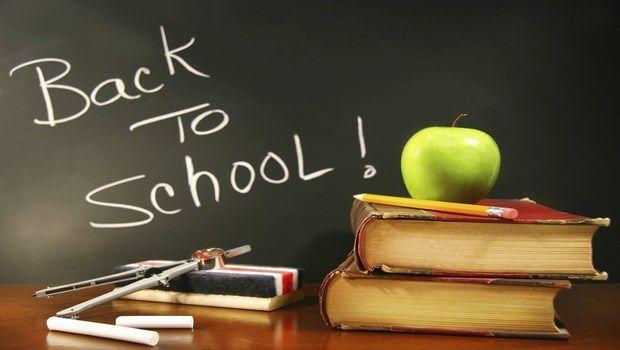 Zurück zur Schule gehen