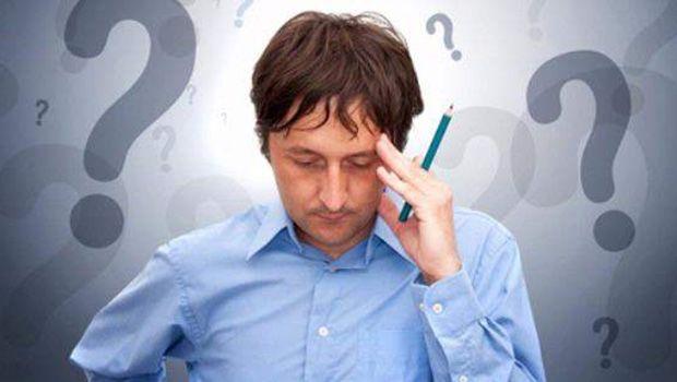 Anzeichen und Symptome von Depression - schwierig sein, in der Fokussierung
