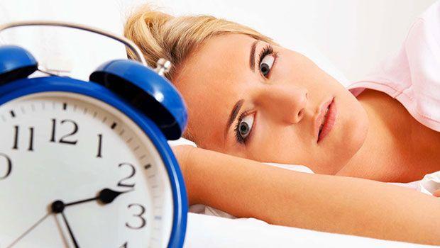 Nachdem Schlaflosigkeit mit körperlichen Schmerzen begleitet