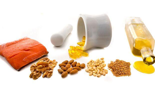 Lebensmittel enthalten Omega-3-Fettsäuren