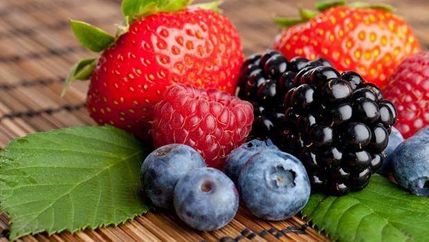 Erdbeeren, Himbeeren, Brombeeren, Heidelbeeren und