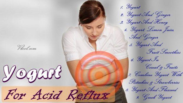 9 Praktische wege joghurt für saurem reflux-behandlung zu verwenden