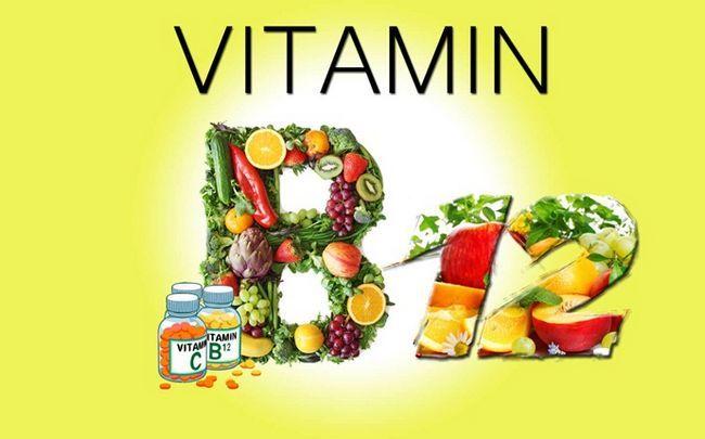 Vitamine für fettige Haut - Vitamin B12