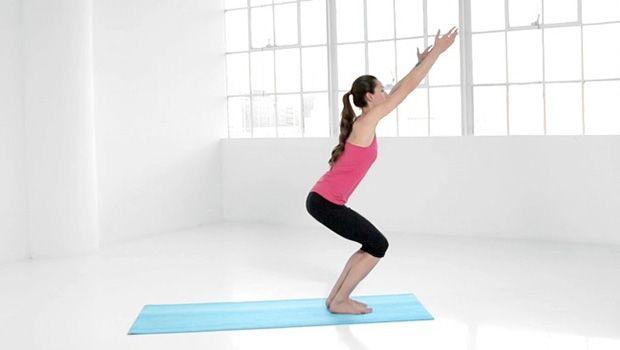 Yoga-Posen für besseren Sex - Stuhl stellen