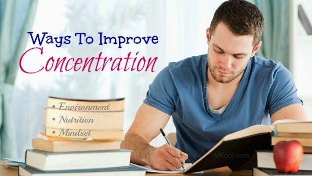 Die besten möglichkeiten, konzentration zu verbessern, wenn das studium & arbeit