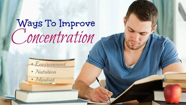 Möglichkeiten zur Verbesserung der Konzentration
