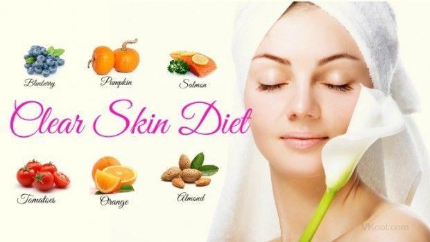 klare Haut Diät