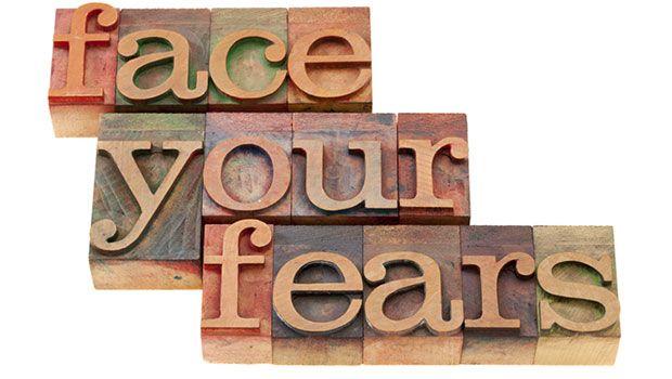 Bereiten Sie für Wachstum und Stellen Sie Ihre Furcht