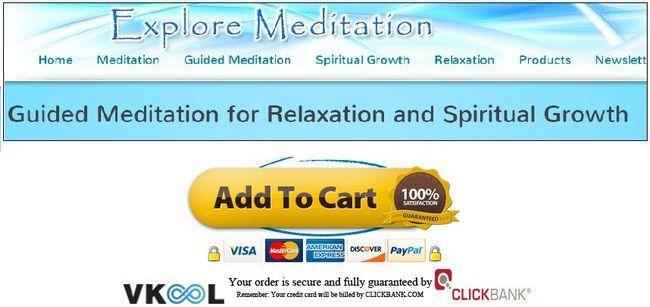 spirituelles Wachstum Planvorlage erforschen Meditation