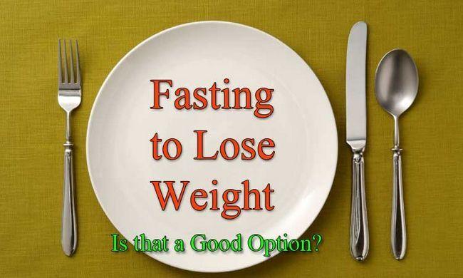 Fasten, gewicht zu verlieren: ist, dass eine gute wahl?