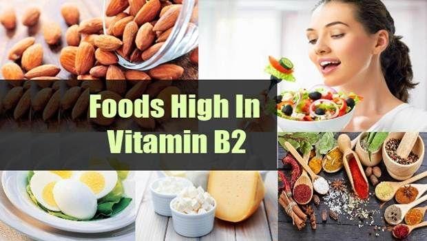 Lebensmittel mit hohem Vitamin B2